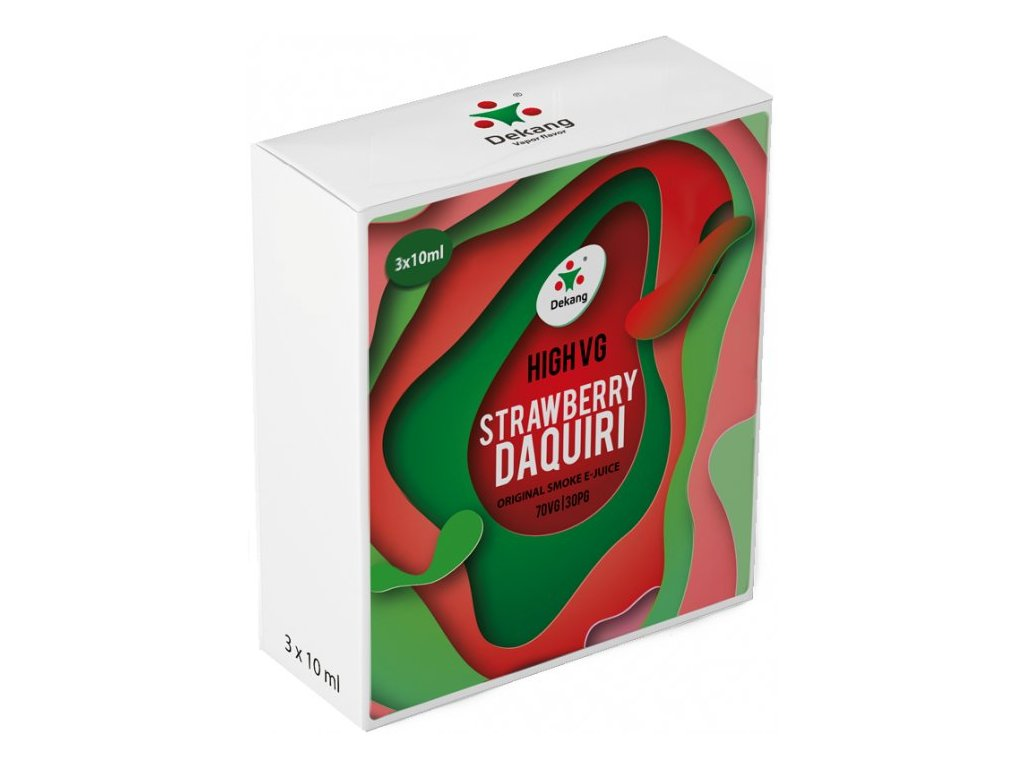Liquid Dekang High VG 3Pack Strawberry Daquiri