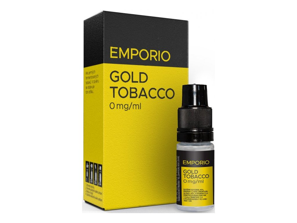 Liquid EMPORIO Gold Tobacco