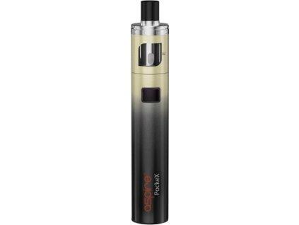 aSpire PockeX AIO elektronická cigareta 1500mAh ANNIVERSARY EDITION Black Gold