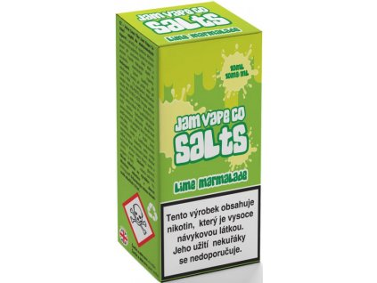 Liquid Juice Sauz SALT The Jam Vape Co Lime Marmalade 10ml