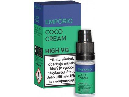 Liquid EMPORIO High VG Coco Cream