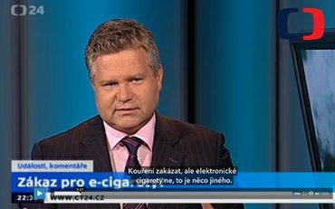 Česká televize o pozitivech e-kouření