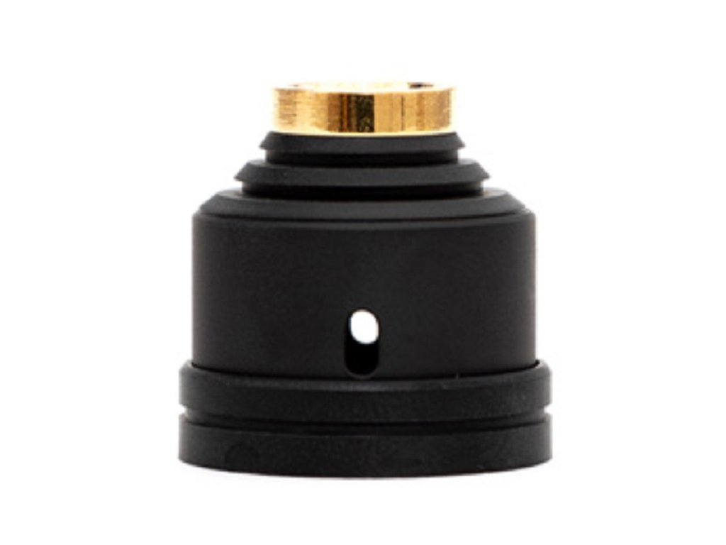 HussarVape Legacy RDA Top Cap Black Out Caps