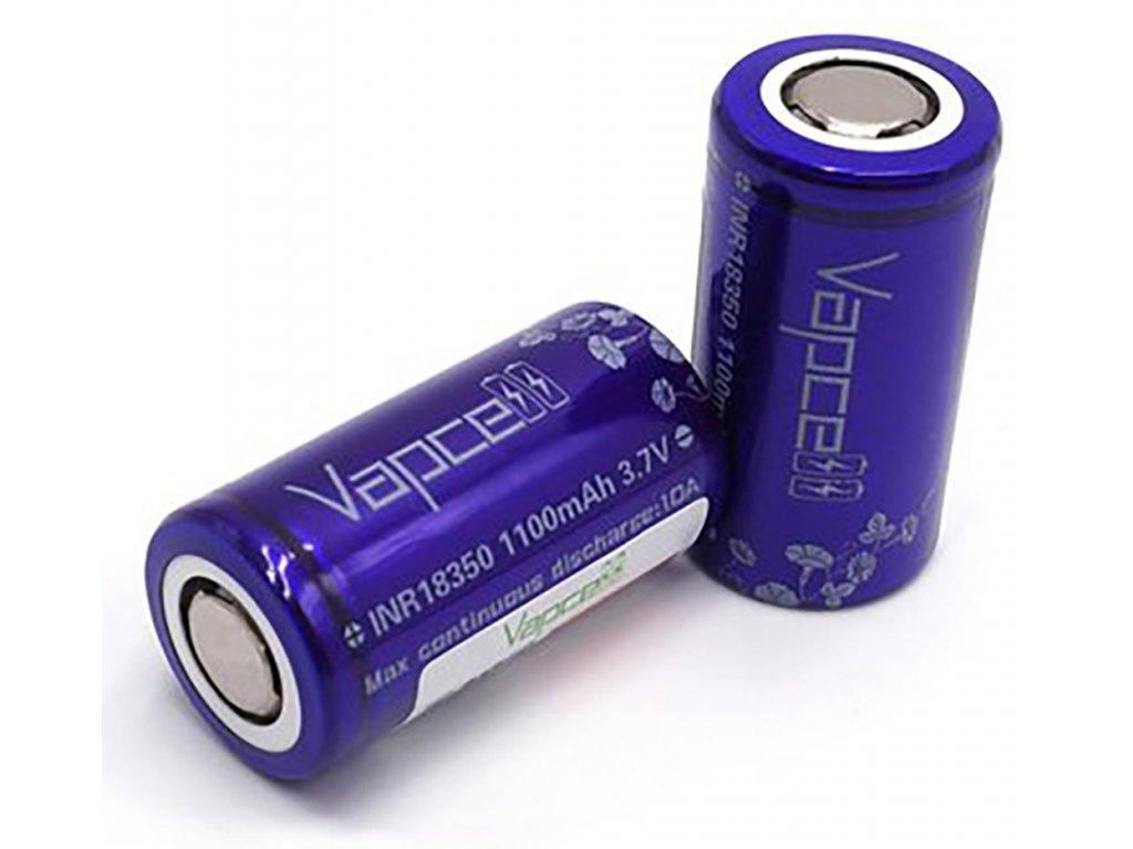 12485 1 baterie vapcell inr 18350 1100mah 10a