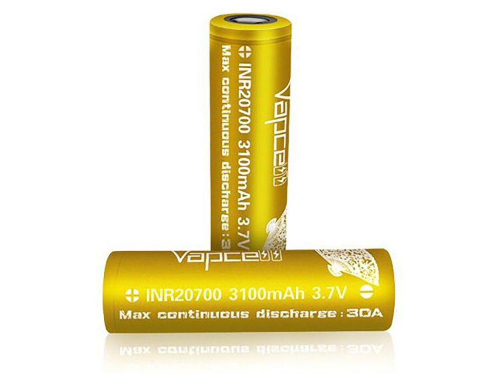 12491 1 baterie vapcell inr 20700 3100mah 30a