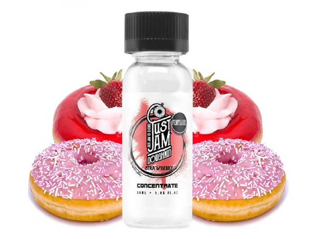 Příchuť Just Jam Doughnut Strawberry 30ml
