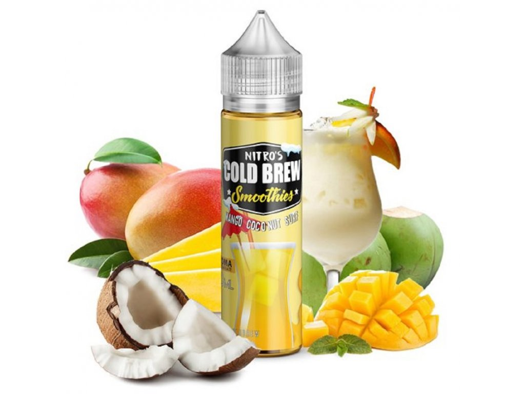 Příchuť Nitros Cold Brew Mango Coconut Surf 20ml