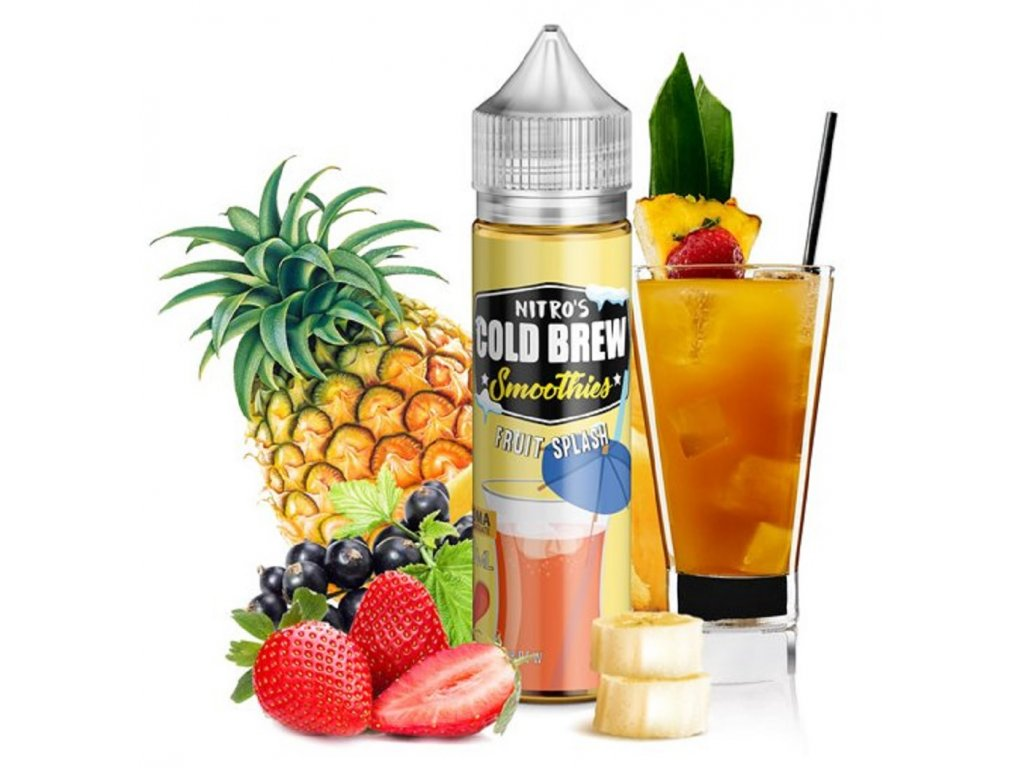 Příchuť Nitros Cold Brew Fruit Splash 20ml