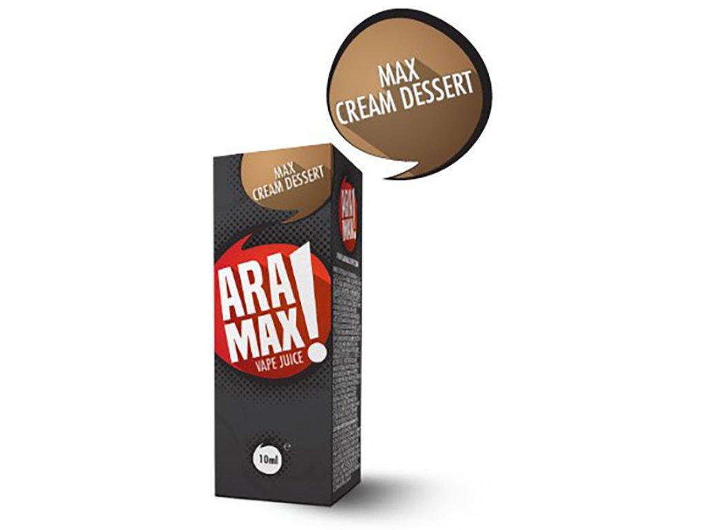 e-liquid ARAMAX Cream Dessert 10ml