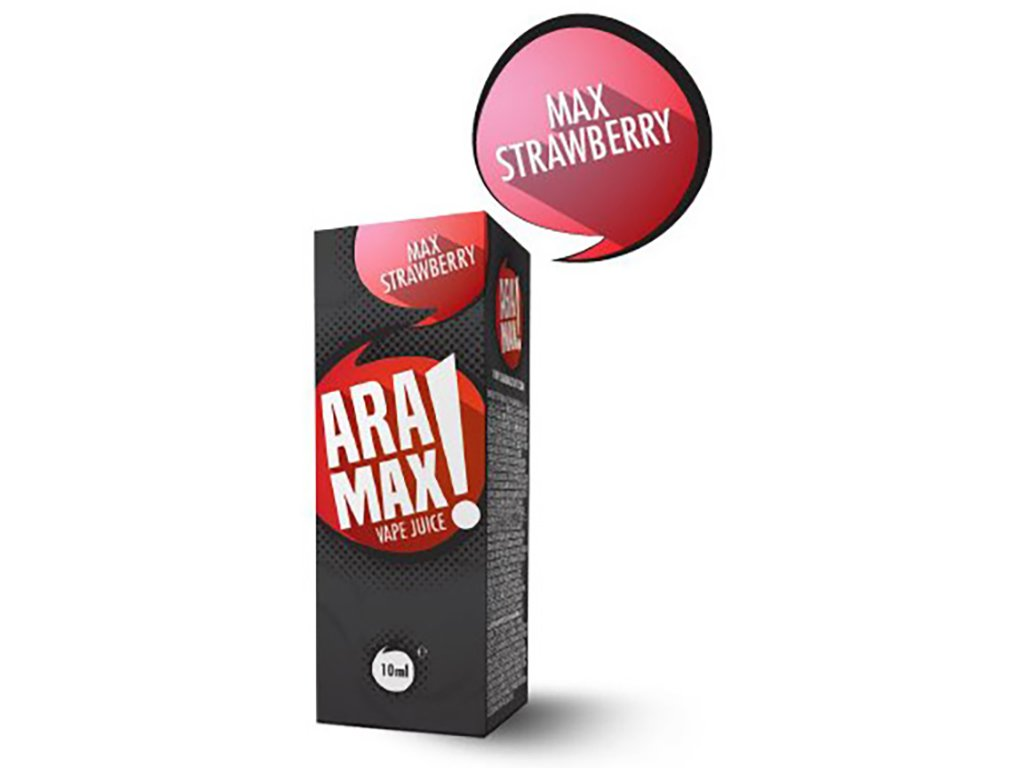 e-liquid ARAMAX Strawberry 10ml