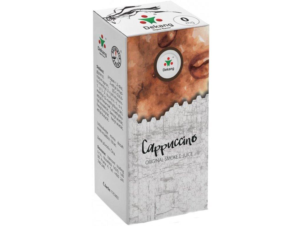 e-liquid Dekang Cappuccino (Kapučíno), 10ml