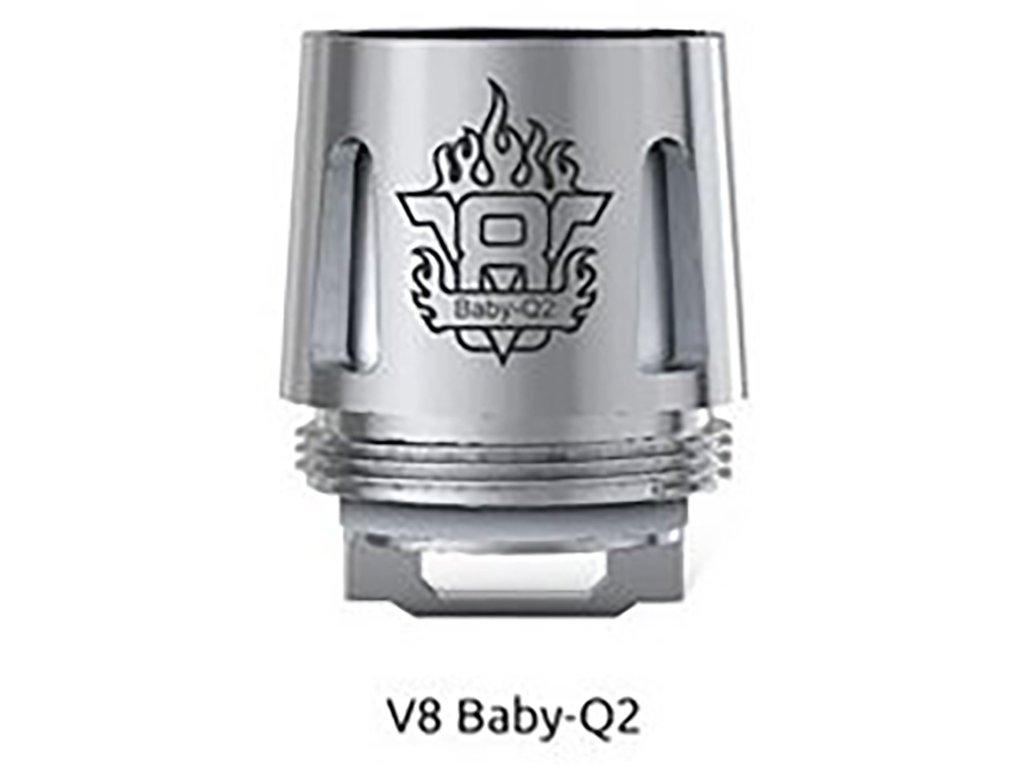 3842 1 smok tfv8 baby q2 core zhavici hlava 0 4ohm