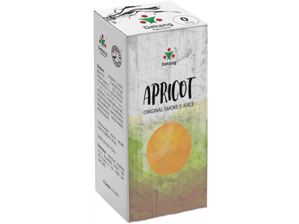 e-liquid Dekang Apricot (Meruňka), 10ml