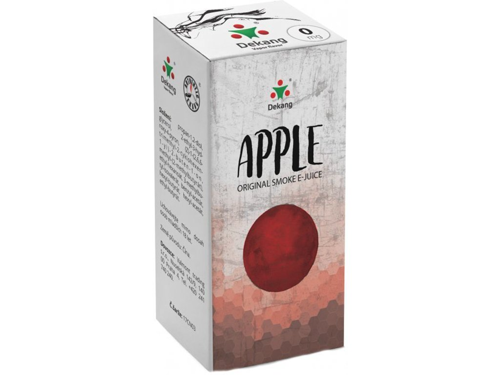 e-liquid Dekang Apple (Jablko), 10ml