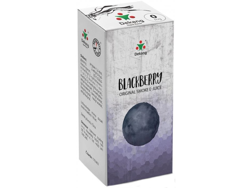 e-liquid Dekang Blackberry (Ostružina), 10ml