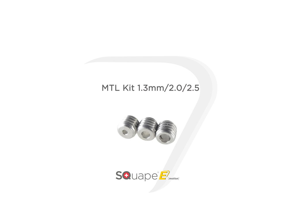 SQUAPE Emotion MTL 1,3mm/2mm/2,5mm kit