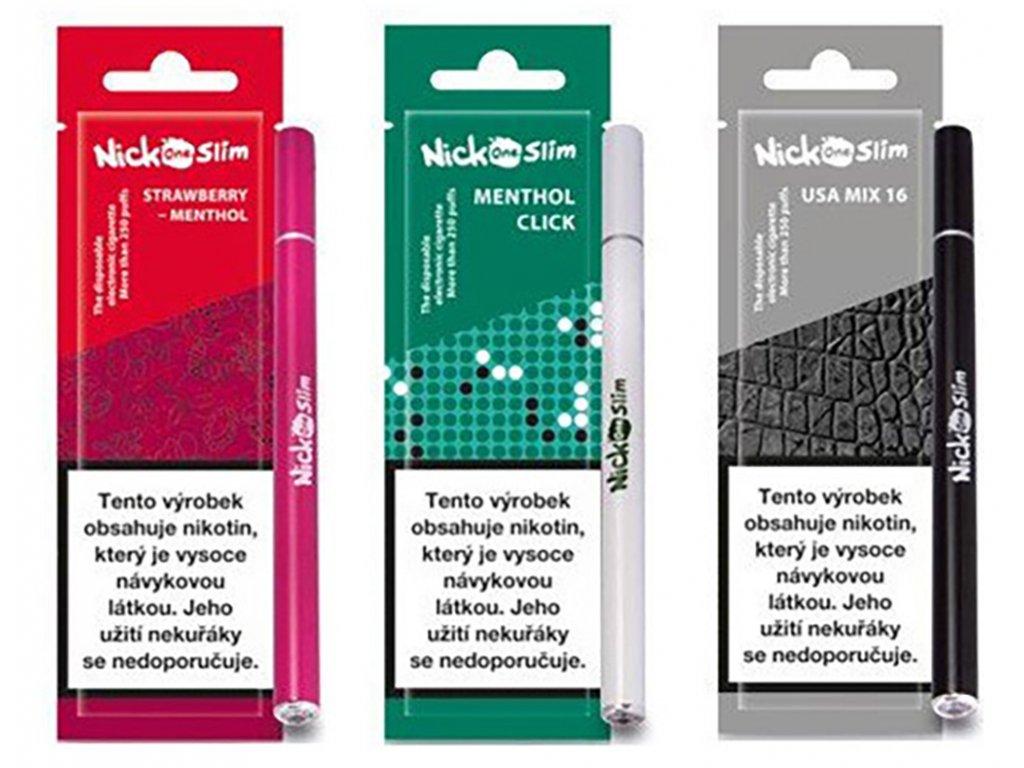 Nick One Slim elektronická cigareta 16mg