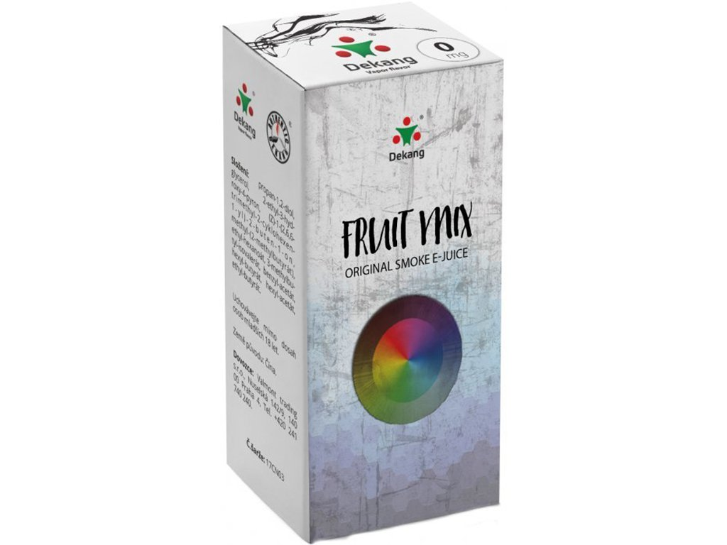 e-liquid Dekang Fruit Mix (Ovocný Mix), 10ml