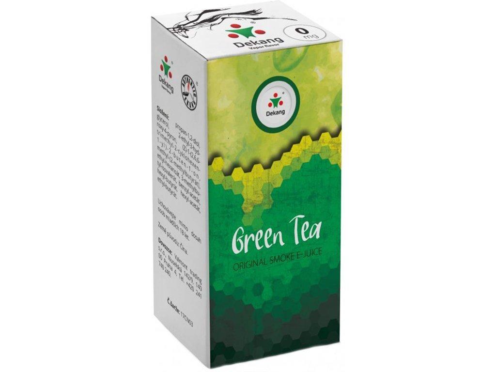 e-liquid Dekang Green Tea (Zelený Čaj), 10ml - 0mg nikotinu/ml