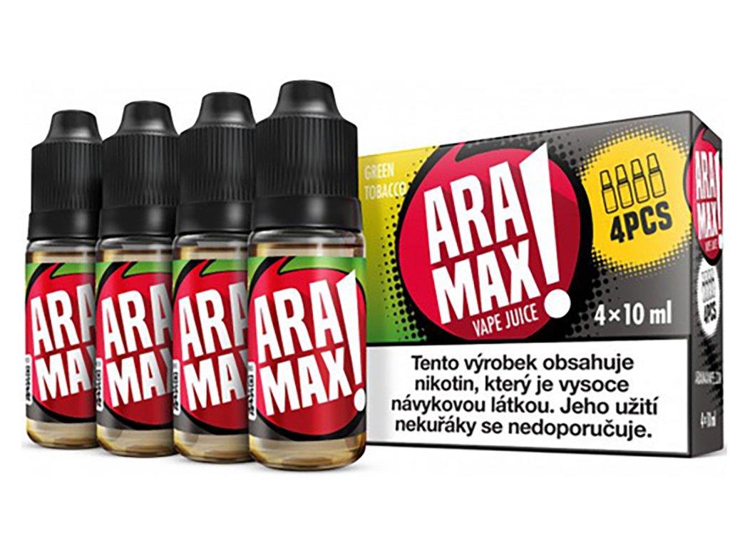 aramax 4pcs green tobacco