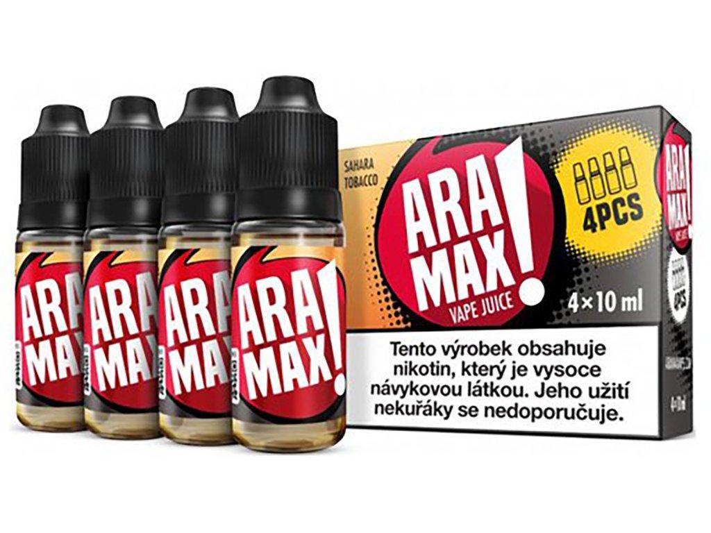 7874 1 e liquid aramax sahara tobacco 4x10ml 3mg nikotinu ml