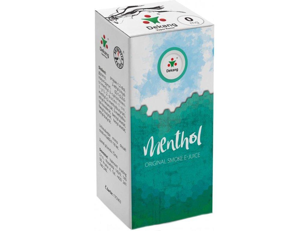 e-liquid Dekang Menthol (Mentol), 10ml