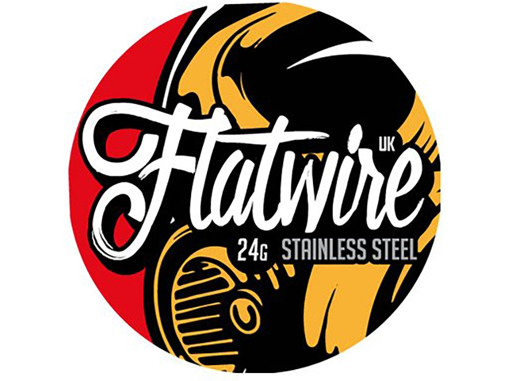 8567 1 odporovy drat flatwire 24g stainless steel 3m