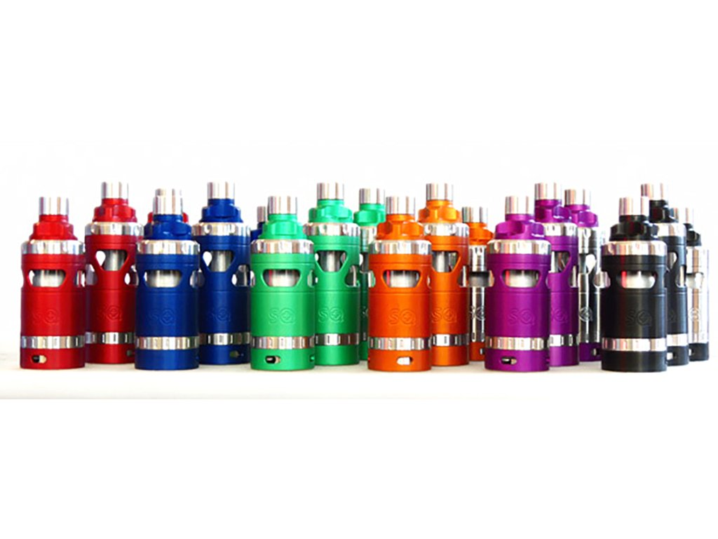 SQUAPE E Motion RTA 4,5ml atomizér Full Colored Edition
