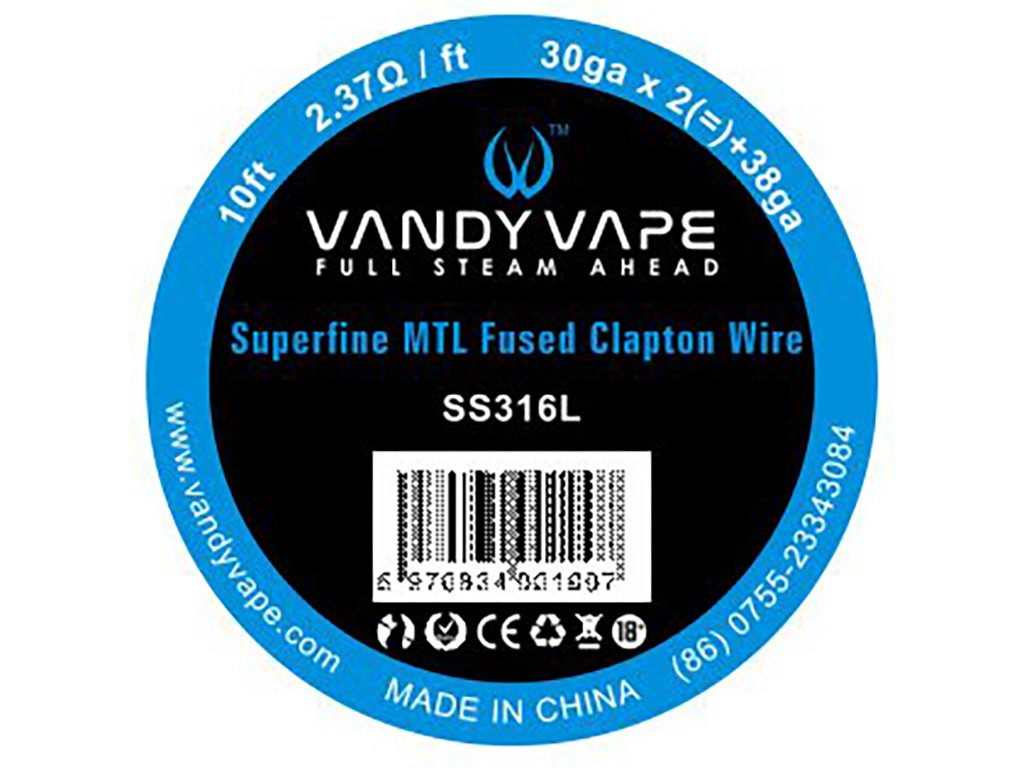 8708 1 vandy vape superfine mtl fused clapton ss316l