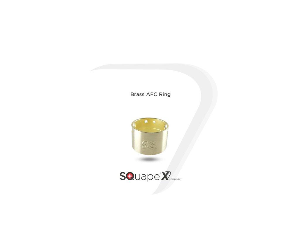 SQUAPE X[dripper] AFC - Brass (mosaz)