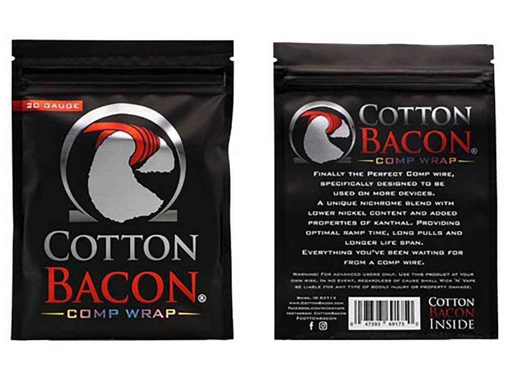 9209 1 cotton bacon comp wrap 26ga