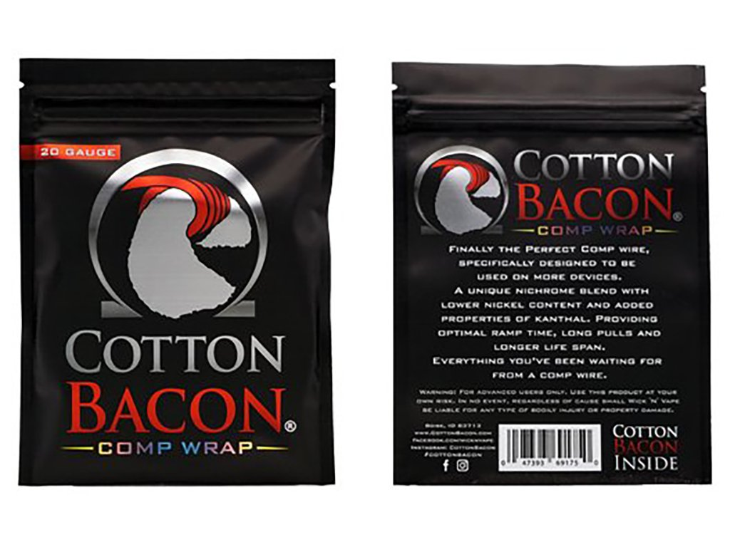 9212 1 cotton bacon comp wrap 24ga