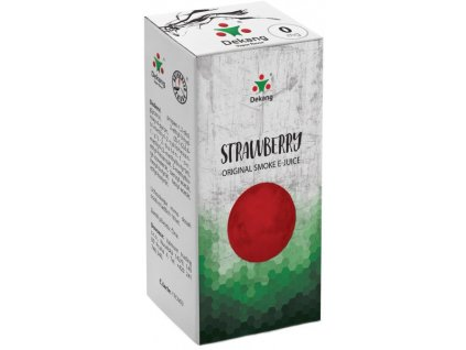 e-liquid Dekang Strawberry (Jahoda), 10ml