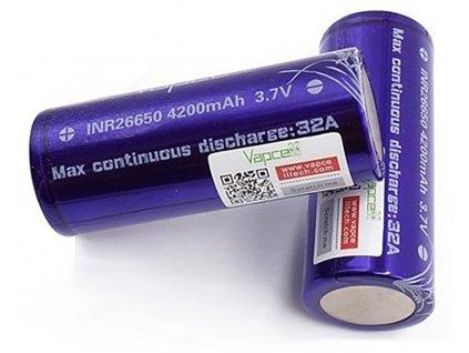 12800 1 baterie vapcell inr 26650 4200mah 32a