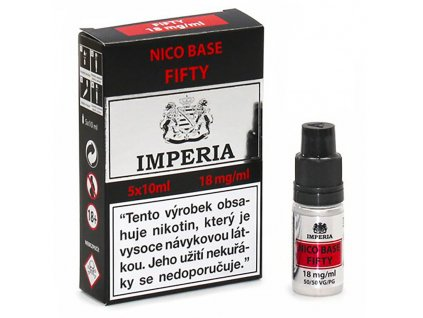 12878 1 baze imperia nico base vpg 50 50 5x10ml 18mg nikotinu ml
