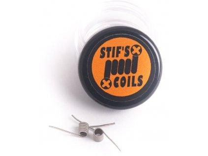 Stifs MTL Micro Fused Clapton Ni80 předmotané spirálky