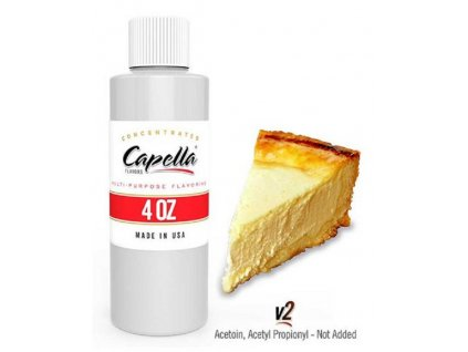 Příchuť Capella 118ml New York Cheesecake V2 (Newyorský Cheesecake)