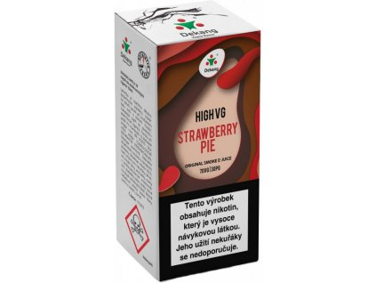 e-liquid Dekang High VG Strawberry Pie, 10ml