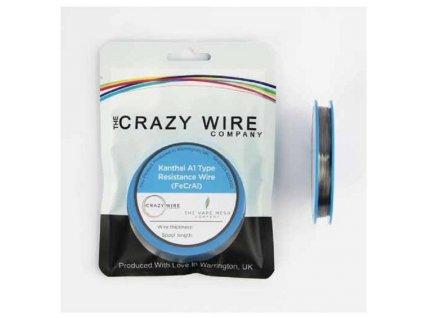 The Crazy Wire Company The Crazy Wire KA1 Kanthalový odporový drát 10m 29GA 0,3mm