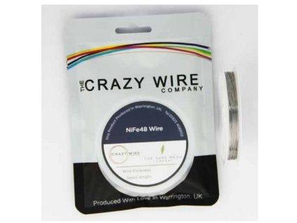 The Crazy Wire Company The Crazy Wire NiFe48 NiFe odporový drát 10m 26GA 0,4mm