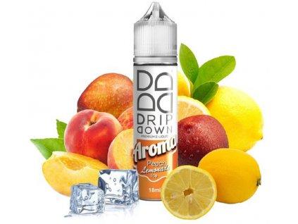I VG Příchuť Drip Down Peach Lemonade Ice SnV 18ml