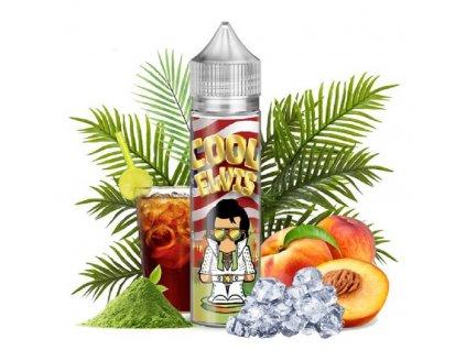Příchuť Flavormonks Cool Elvis SaV Cool Green Tea Peach 12ml
