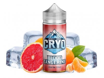Příchuť Infamous Cryo Blood Tangerine SaV 20ml