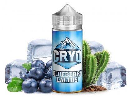 Příchuť Infamous Cryo Blueberry Cactus SaV 20ml