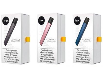 JTI Logic Compact elektronická cigareta 350 mAh