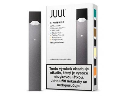 Elektronická cigareta JUUL Starter Kit Šedá