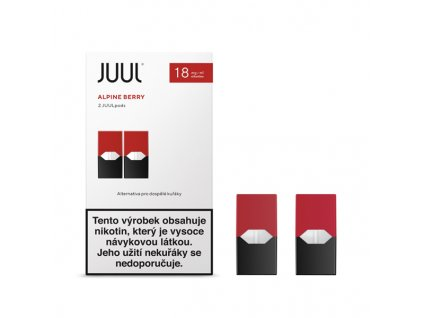 Cartridge JUUL Alpine Berry 18mg - 2ks