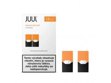 Cartridge JUUL Mango Nectar 18mg - 2ks