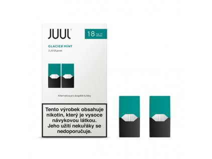 Cartridge JUUL Glacier Mint 18mg - 2ks