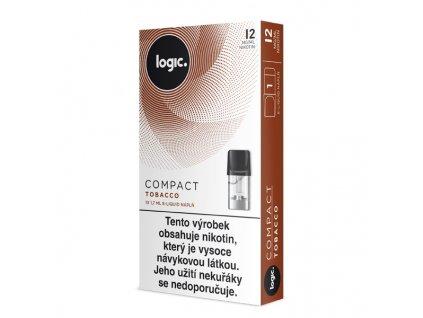 JTI Logic Compact náplň Tobacco 1,7ml 12mg